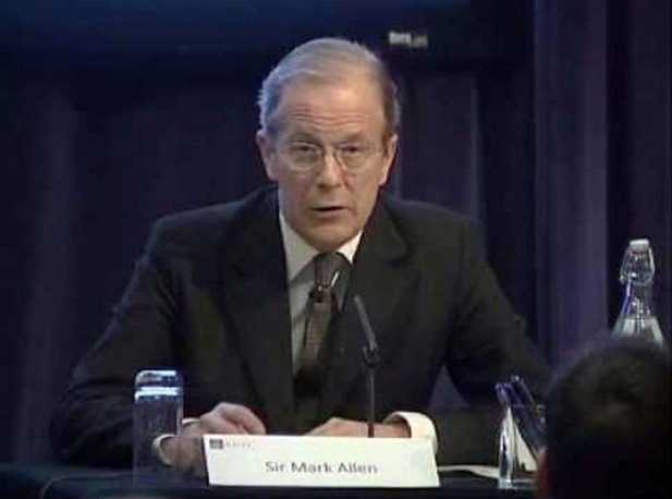 Mark Allen, ex-chefe da seção de contraterrorismo do MI6
