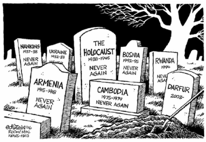 Genocídio, nomeando um crime
