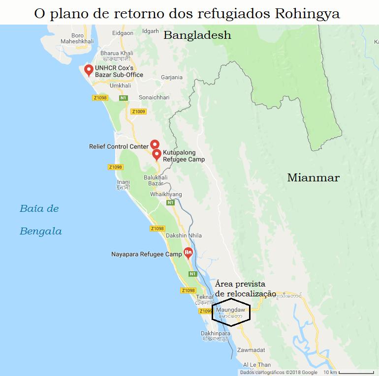 Limpeza étnica no Myanmar