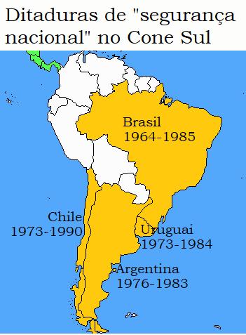 O Brasil sob ditadura militar 1964-1985 (Parte I)