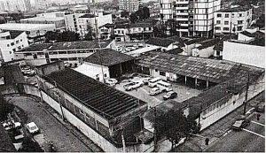 Instalações da Oban, depois DOI-CODI, na Vila Mariana, em São Paulo, no início da década de 1970