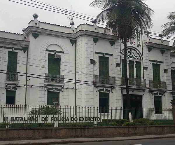 Edifício onde funcionou o antigo DOI-Codi, na Tijuca, no Rio de Janeiro
