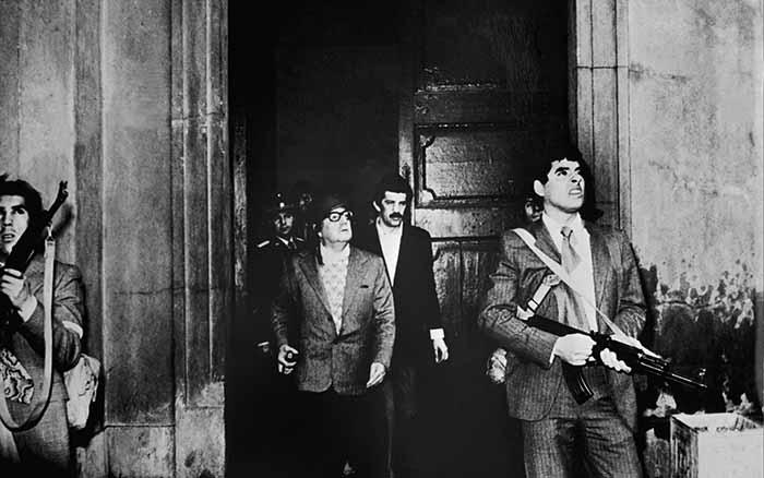 Última foto de Allende vivo, no Palácio de La Moneda, em 11 de setembro de 1973