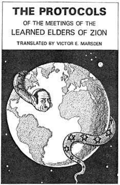 """Edição britânica dos """"Protocolos"""", de 1923"""