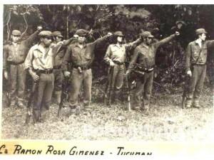 O pelotão Ramon Rosa Gimenez era dos mais temidos da ERP e foi dizimado em uma operação militar logo depois do golpe de 1976.
