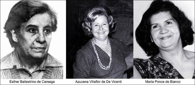Em 8 de dezembro de 2005, no final da 25ª Marcha Anual da Mães os restos mortais de Azucena Villaflor foram enterrados na Praça de Maio