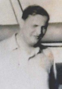 Peter Bial, a bordo do Persier