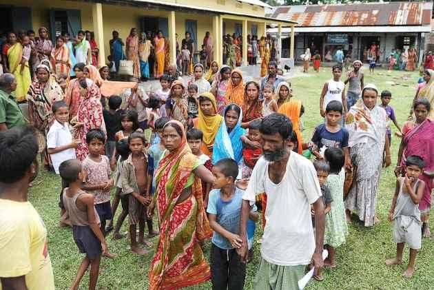 """Muçulmanos de Assam em campo de detenção para """"imigrantes ilegais"""