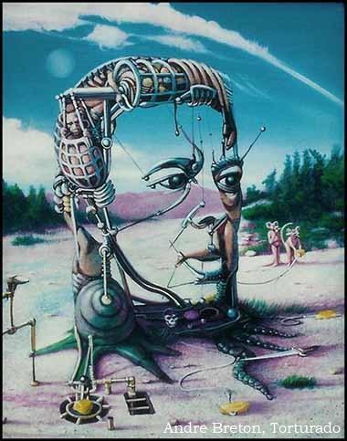 Torturado. André Breton