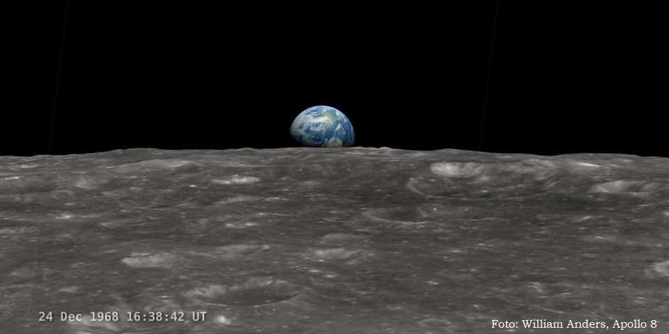 Nos 50 anos da Lua