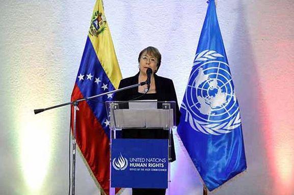 Visita da Alta Comissária de Direitos Humanos Michelle Bachelet à Venezuela, em junho de 2019