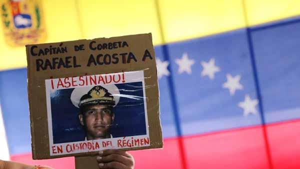 Assassinado em custódia do regime Maduro