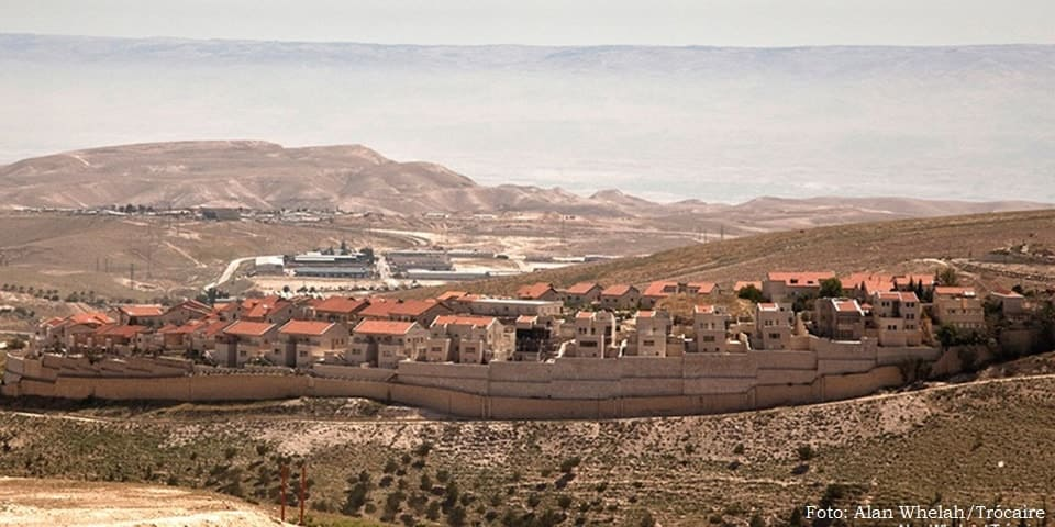 Colônia israelense na Cisjordânia ocupada