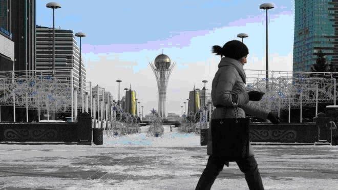 Nur-Sultan, que foi Astana, renomeada em homenagem ao líder autocrático que governou o Cazaquistão de 1990 a 2019