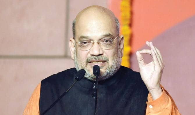 Amit Shah, ministro do Interior da Índia