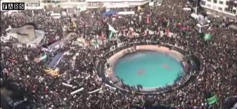 Milhares acompanharam o funeral do general Suleimani no Irã