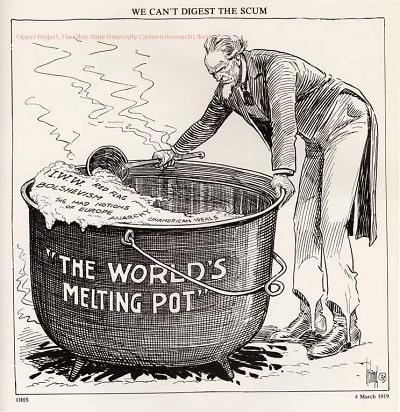 Melting-pot filtrado