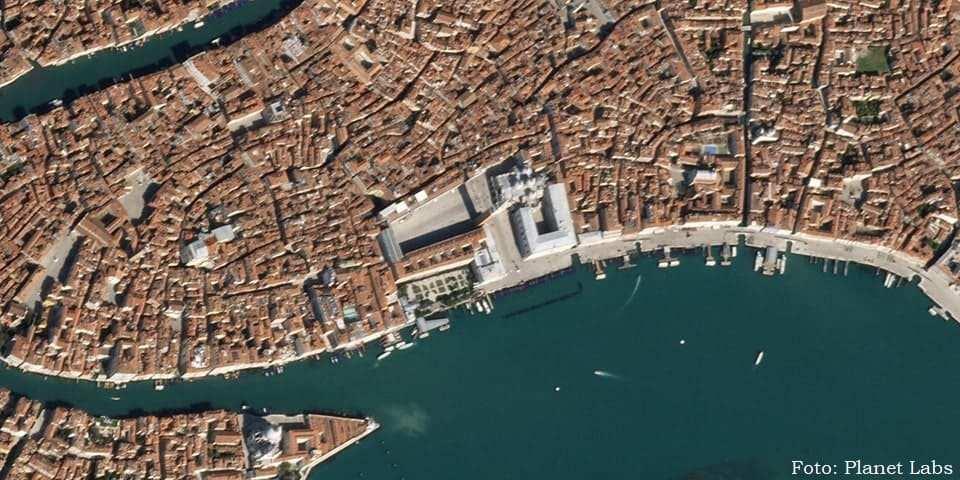 Foto satélite Veneza