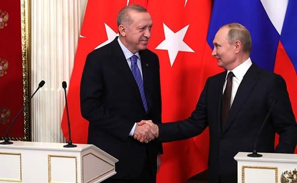 Erdogan e Putin 5/3/2020