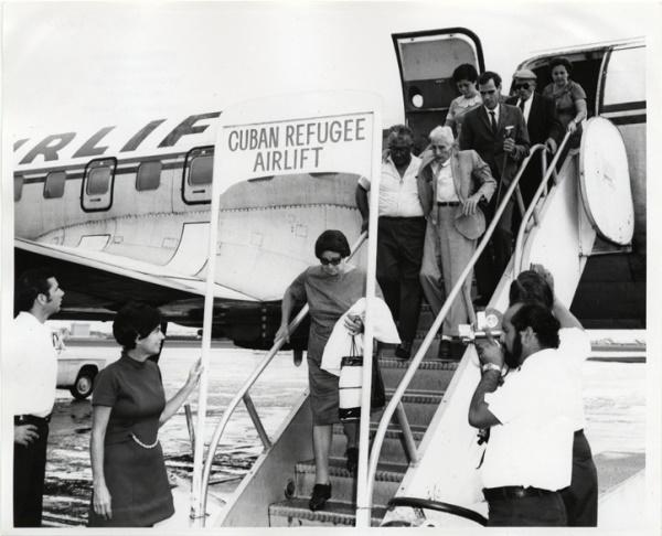 Cubanos chegam aos EUA