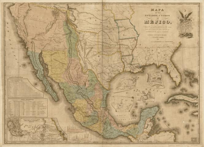 Fronteiras MEX-EUA pre 1848