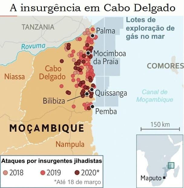 Cabo Delgado e ataques