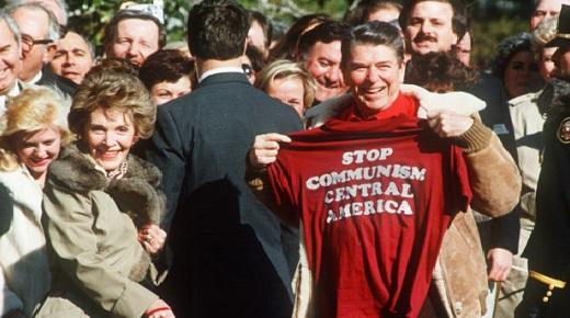 Reagan & Nancy- guerra às drogas