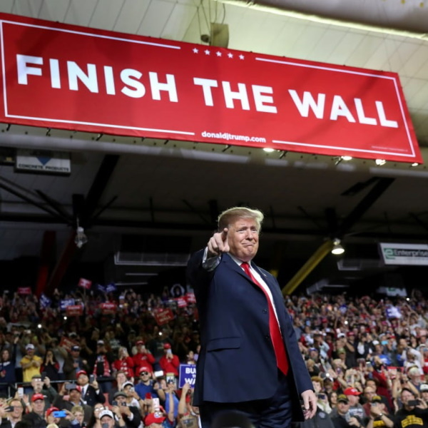Trump e o Muro