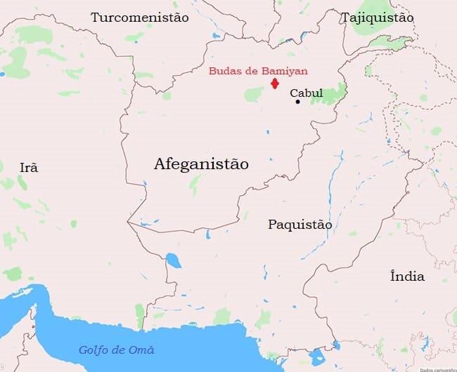 Mapa - Afeganistão