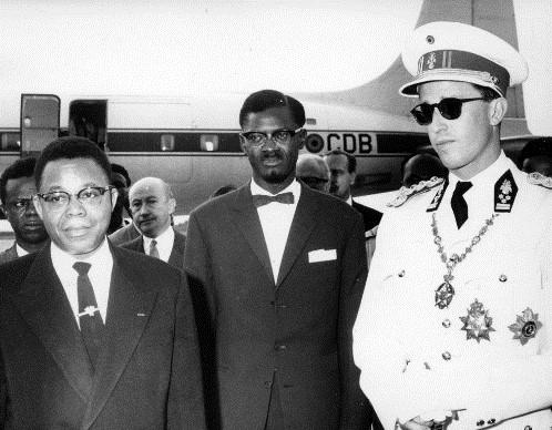 Balduíno, Lumumba e Kasavubu e