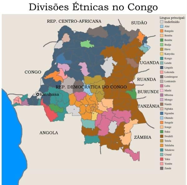 Mapa grupos etnicos