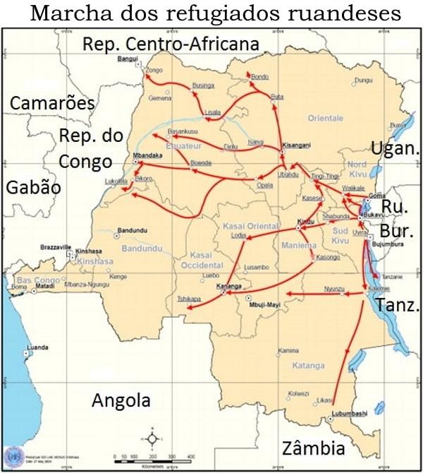 Mapa - Marcha Refugiados