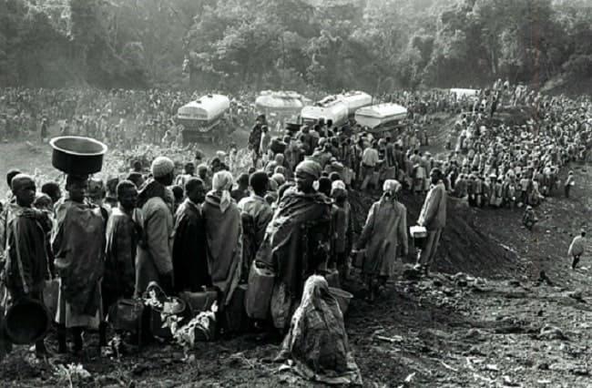 Refug hutus em Goma