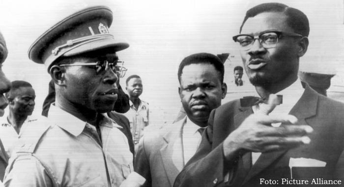 Lumumba e Mobutu