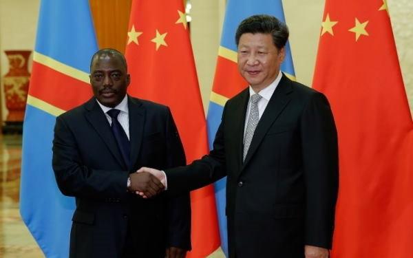 Kabila e Xi Jinping