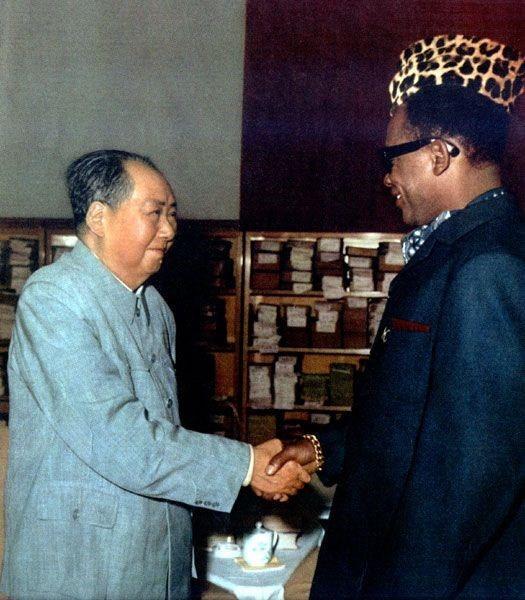 Mobutu e Mao