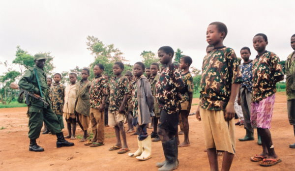 crianças soldado