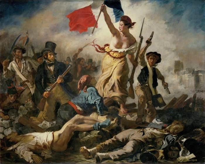Delacroix, A Liberdade conduz o povo