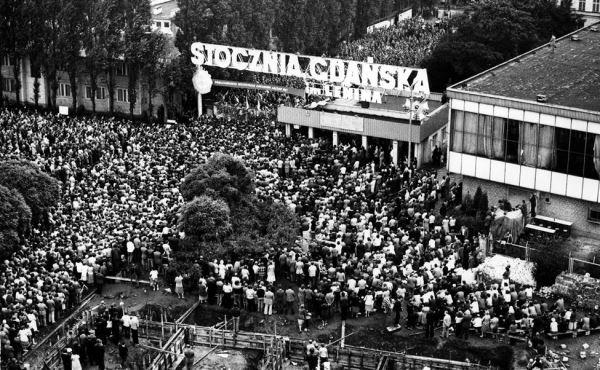 Greve em Gdansk,1980