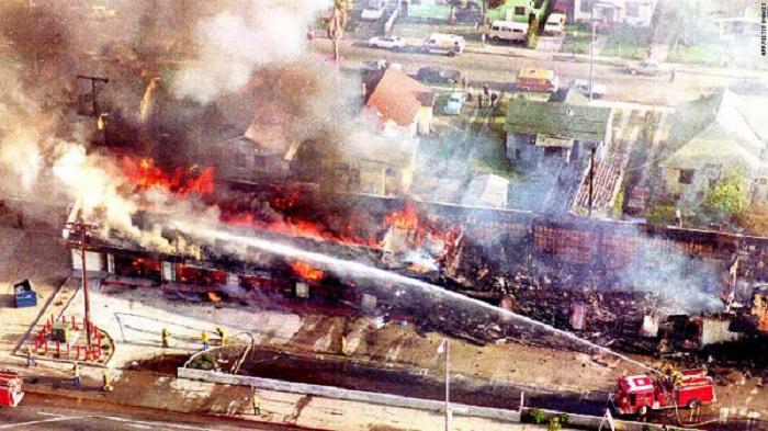 LA, 1992, protestos