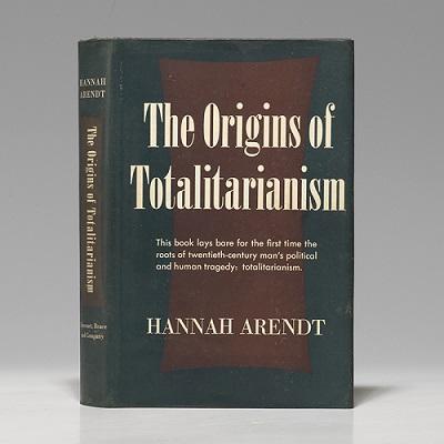 Origens do totalitarismo,capa da primeira edição