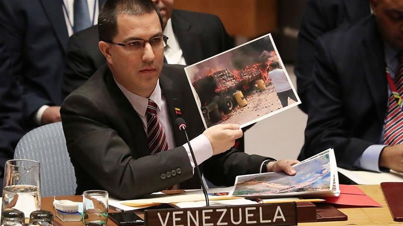 ministro venezuela csnu