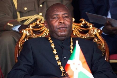presidente Évariste Ndayishimiye