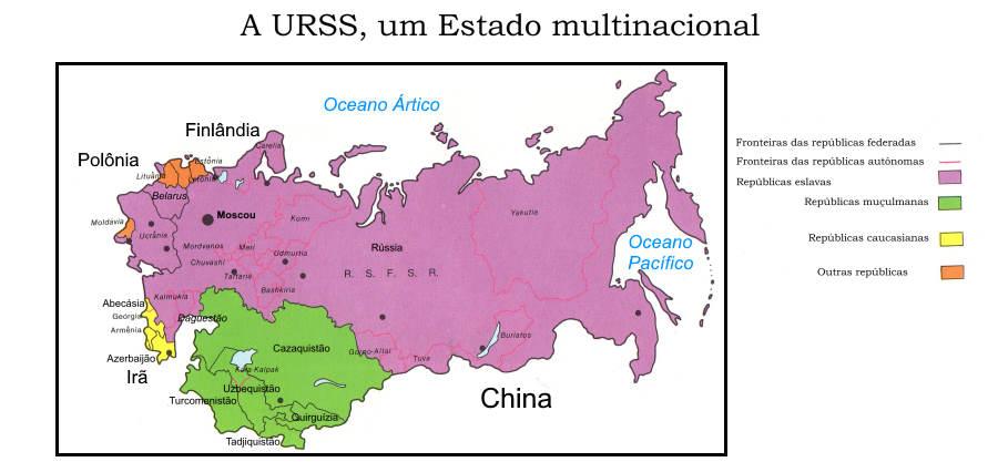 URSS, 15 repúblicas