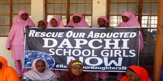 Meninas sequestradas pelo Boko Haram