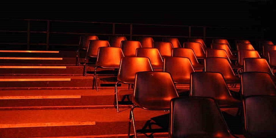 CAPA-teatro vazio