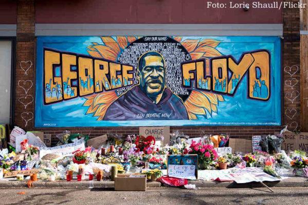Homenagem a George Floyd