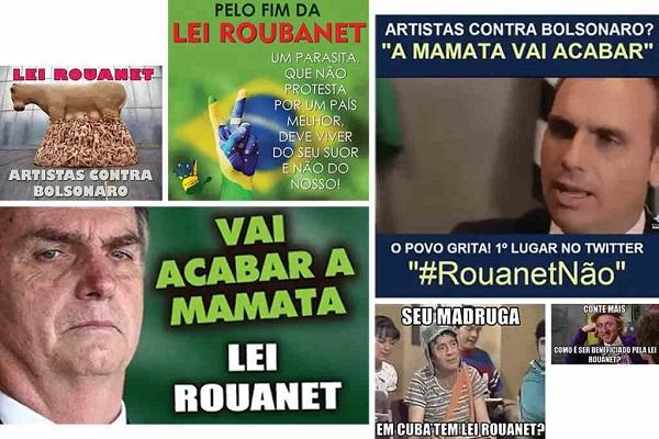 propaganda bolsonarista anti-cultura