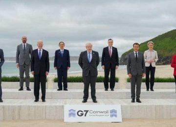 "G7: ""ARSENAL DE VACINAS"" OU FRACASSO MORAL? (14/6/2021)"