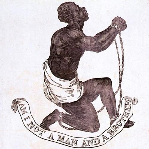 Desenho de medalhão abolicionista inglês